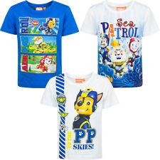 Paw Patrol T_Shirt für Jungen Kinder Nickelodeon T-Shirt Kurzarm 100 % Baumwolle