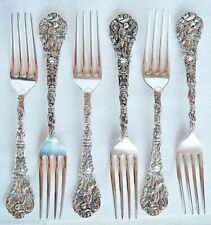Antique Gorham Versailles Sterling Silver Lunch or Salad Forks (4061)