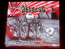 Abscess: Dawn Of Inhumanity CD 2010 Peaceville Records CDVILEF277 Digibook NEW