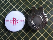 GOLF / Houston Rockets Logo Golf Ball Marker/with Magnet Hat Clip New!!