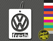 Volkswagen Fresh Tree Decal Air Freshner VW Dub GTI Golf TDI Jetta Passat Beetle