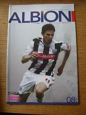 24/10/2006 West Bromwich Albion v Arsenal [Football League Cup] (Item has no app