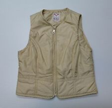 Mondi Womens Size XSmall (32-34) Petite  Beige Vest Great Condition