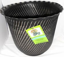 "Indoor Metal Planter 8.25"" x 12"" x 14""  20.61Qts"
