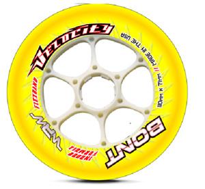 Bont Velocity Indoor wheels 100mm and 110mm