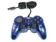 Liquid Video Intruder GamePad for PlayStation 2 PS2 - Blue
