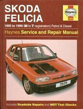 SKODA FELICIA 1.3 1.6 PETROL & 1.9 DIESEL 1995 - 1999 SERVICE & REPAIR MANUAL