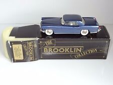 (S) brooklin white metal LINCOLN CONTINENTAL  BRK11