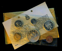 1961 Canada Silver Proof Like .800 Set - 1.1 ASW