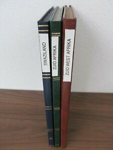 Schöne Sammlung Sud-Afrika, Sud-West Afrika und Swaziland *CC8006*