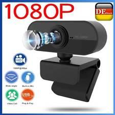 USB Kamera HD 1920*1080P 3.0 Webcam Mit Mikrofon für Computer PC Laptop Mac DE