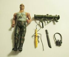 Coleco Rambo Sgt Havoc  Action Figure with Weapons