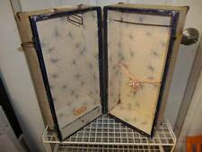 Unbranded ~ Vintage Doll Wardrobe Dress Case/Trunk Carrying Case