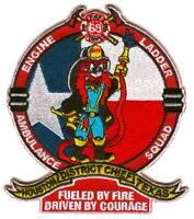 Houston Fire Department Station 68 Patch Texas TX v2