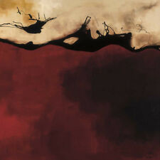 """FIRE (24""""x24"""") and OCHRE (24""""x24"""") SET by LAURIE MAITLAND - 2PC CANVAS"""