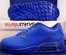 NIKE ID AIR MAX 90 HYPERFUSE PREMIUM BLUE SHOES 822641 981 SZ 5.5Y WOMENS SZ 7