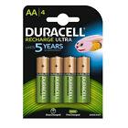 4X Duracell Duralock AA 2500mAh Batteries Rechargeable Ultra LR6 NiMH Battery