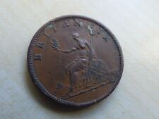 George III Half-Penny 1807 Nice Grade (myrefn12630)