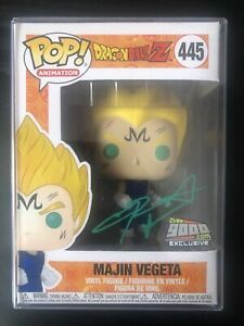MAJIN VEGETA #445 GREEN AUTOGRAPH - Dragon Ball Z - Funko Pop! Vinyl Animation