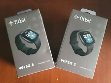 Fitbit Versa 3 BRAND NEW Factory Sealed - Health & Fitness Smartwatch with GPS!