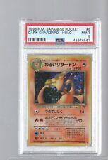 New listing 1998 Japanese Rocket 006 6 Dark Charizard Holo Psa 9 Mint Pokemon