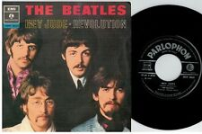 THE BEATLES Hey Jude Revolution 45rpm 7' + PS 1968 ITALY MINT-