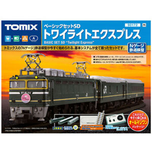 Tomix 90172 Basic Set SD Twilight Express N Scale
