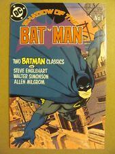 Shadow of the Batman #1 DC Comics 1985 Series 9.2 Near Mint-