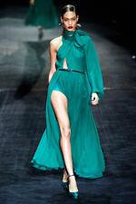 Gucci Runway/Editorial Green Dress Fall/Winter 2011 Size 40IT NWT
