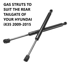 1 PAIR GAS STRUTS fit HYUNDAI IX35 TAILGATE BOOT HATCH 2009-2015  762904 & 6883