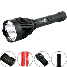 Trustfire 3800LM CREE XM-L2 LED Tactical ON/OFF 18650 Flashlight Torch + Battery
