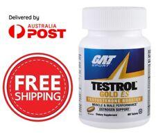GAT TESTROL GOLD ES TESTOSTERONE BOOST | TRIBULUS | ZMA| TEST | ESTROGEN SUPPORT