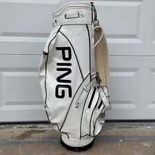 Vintage Classic Ping 1980's Staff Golf Bag Collectors Rare - Okay Condition