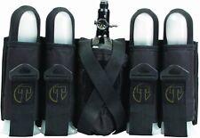 Tippmann Paintball 4+1 Sport Deluxe Pack Harness - Black