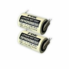 2x CR14250SE FT1 1/2 AA FDK 3V Lithium 850 mAh 2/1 Print Akku Batterie BMW E30