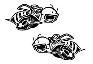 SUPER BEE Scat Pack Bees fits Charger Challenger Racing Decal Sticker Pair