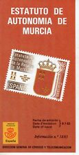 España Estatuto de Autonomía de Murcia año 1983 (DT-503)