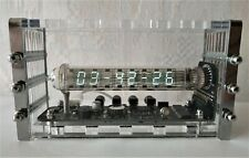 Adafruit Ice tube clock VFD IV-18 nixie clock tubes steampunk clock vintage art