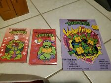 Tmnt Vintage Valentines card and book