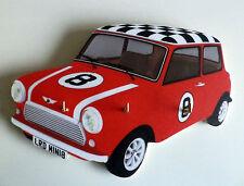 MINI Auto Chiave Rack / chiave titolare, 60s Classic Vintage Mini Auto Chiave Rack, Rosso