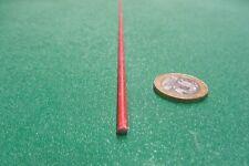 "Fiberglass Gpo3 Red Round Rods .187"" (3/16"") Diameter x 36 Inch Length, 5 Units"