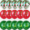 15Pcs Christmas Balloons Latex Christmas Themed Balloon Xmas Decoration Santa