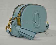 MARC By Marc Jacobs M0009474 Shutter Camera Shoulder/Crossbody Bag in 463 Azur