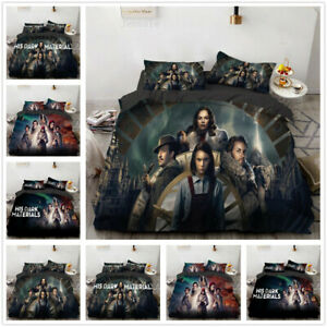 Dark Matter 3D Bedding Set Duvet Cover & Pillowcase Bedclothe Bedroom UK2H