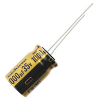 Nichicon UFW Audio Grade Electrolytic Capacitor, 1000uF @ 35V, 20% Tolerance