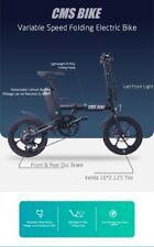 Folding Electric Bicycle13Ah 250W Black 16 Inches  25km/h 80km BLACK
