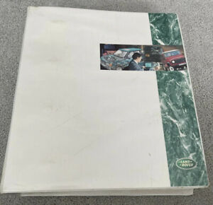 Land Rover Discovery Workshop Manual Binder LRL0079 1996