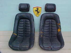 Ferrari 365 Front Seats_Head Rests_GTB/4_Daytona_GTS/4_0300506_0300576 PAIR_OEM