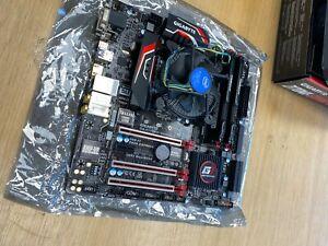 Gigabyte Z170MX-Gaming 5 Motherboard, Intel 6600K CPU, 16GB RAM