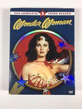 Wonder Woman - The Complete Third (3) Season (DVD 2005, 4-Disc Set) Lynda Carter